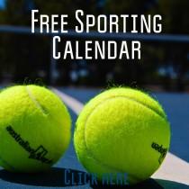 Free sporting calendar