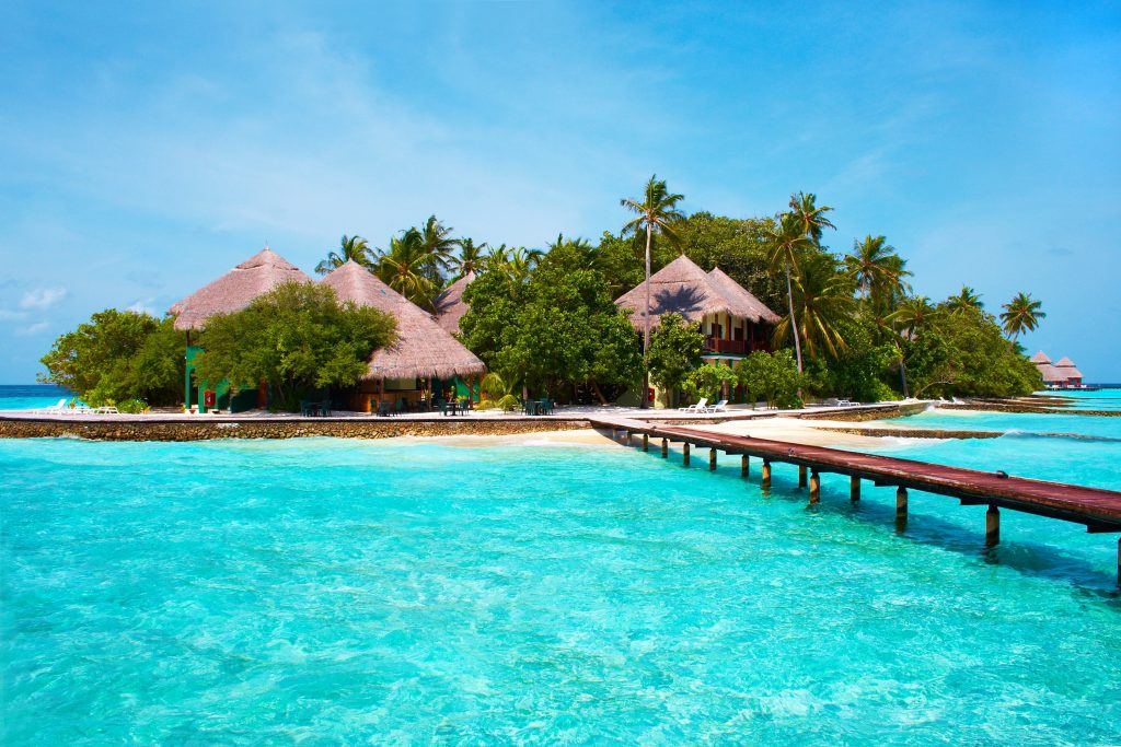 Hire an island in the maldives for team building activities